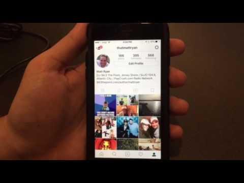 Instagram Stream Notification