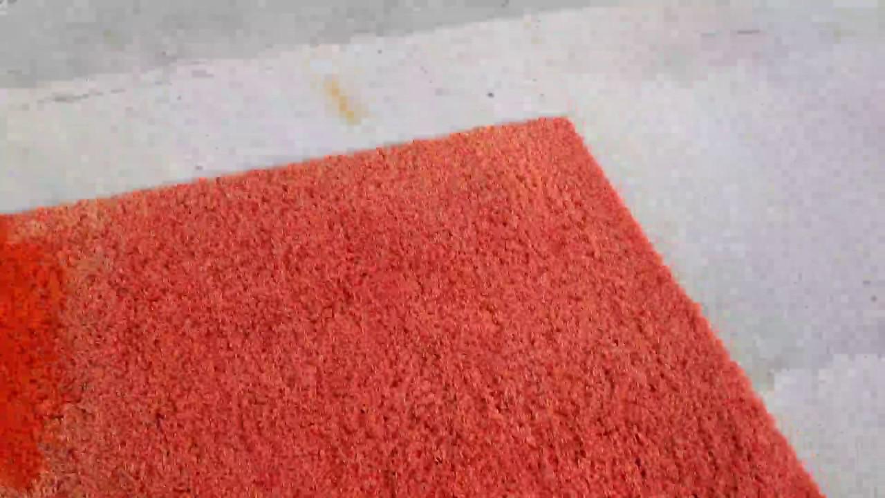 Rinnovare colorare tappeto youtube