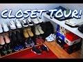 CLOSET TOUR! WHERE I KEEP MY SNEAKERS & CLOTHING!