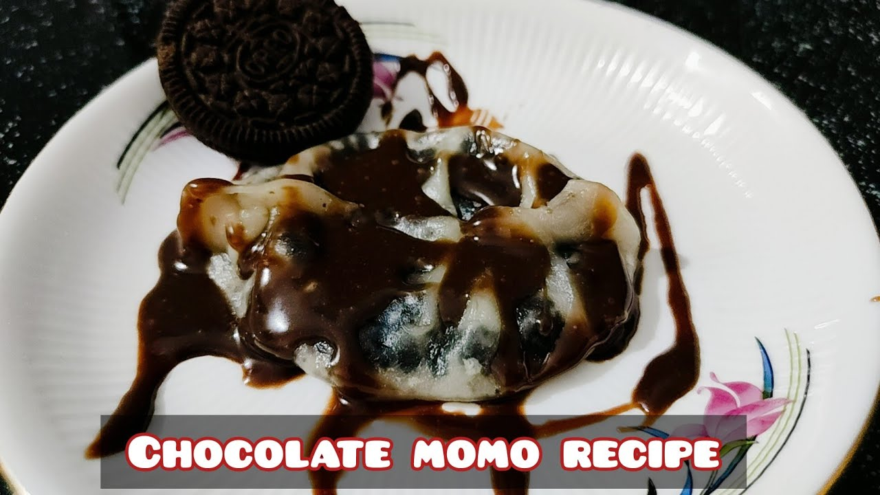 CHOCOLATE MOMOS RECIPE without steamer || Instant and tasty || 2 ingredients