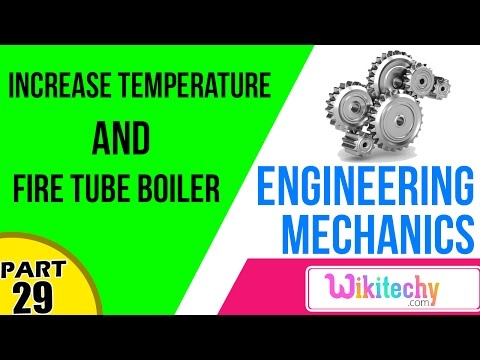 Increase Temperature and Fire Tube Boiler   Mechanical Engineering Interview questions and answers
