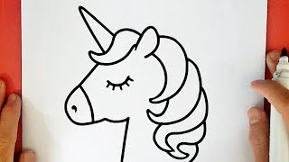 unicorn drawing lesson