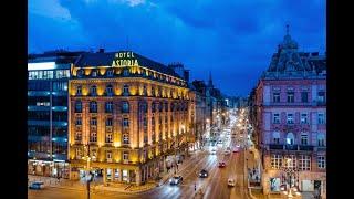 Danubius Hotel Astoria City Center 4 Венгрия Будапешт обзор отеля территория