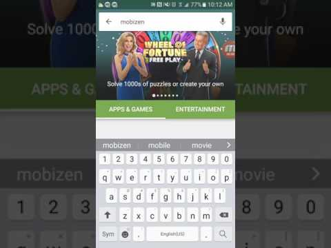 How to setup mobizen (android screen recorder)