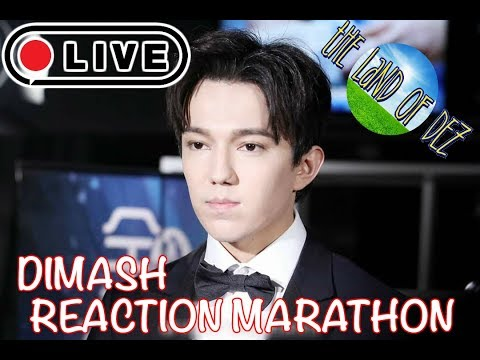 LIVE: 2018 DIMASH REACTION MARATHON (LIVE REACTION) 9PM EST