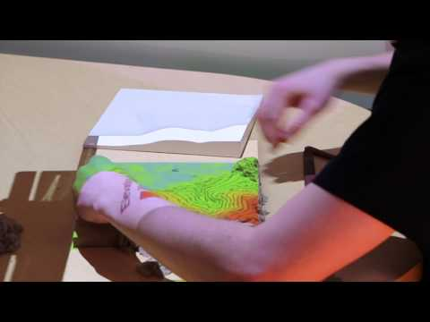 Projection-augmented 3D modeling with Tangible Landscape