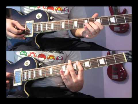 Instant Crush Daft Punk Guitar Cover Tabs Youtube