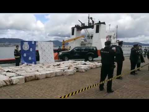 El Karar y sus 4.000 kilos de coca ya están en Galicia