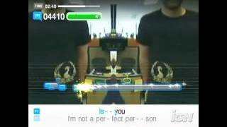 SingStar Pop PlayStation 2 Gameplay - The Reason