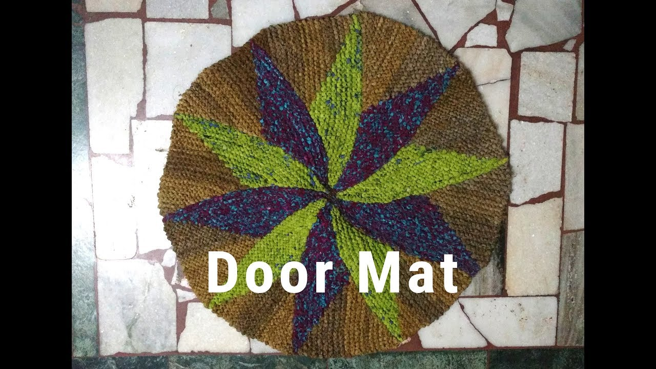 4062229fc Create a DOOR MAT with Old Saree. - YouTube