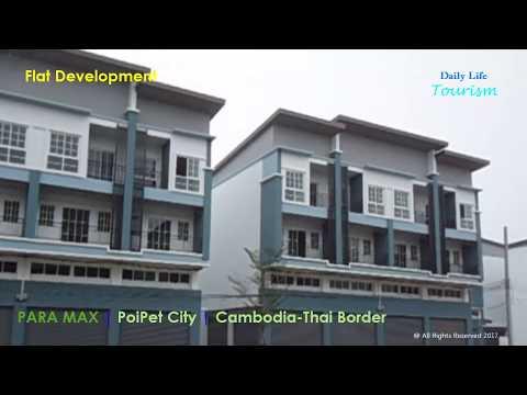 Amazing ! Cambodia Thailand border | Flat Development | PoiPet Cambodia | Asia Developing Country
