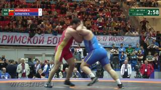 130 кг. Ислам Магомедов - Борис Вайнштейн. Полуфинал.