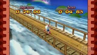 Bomberman Land Sony PSP Gameplay - Running and