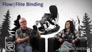 2015 Flow Flite Mens Binding Overview by SnowboardsDOTcom