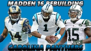 Madden 16 Connected Franchise | Rebuilding The Carolina Panthers [Reloading] 2017 Video