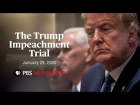 WATCH: The Senate impeachment trial of Donald Trump | January 29