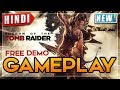 🔥Shadow Of The TOMB RAIDER Free Trial Demo Hindi FULL GAMEPLAY   NoobTheDude