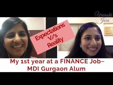 1 year experience - finance job after MBA   Job Life After MBA   Ft. Priyanka ~ MDI Gurgaon Alum