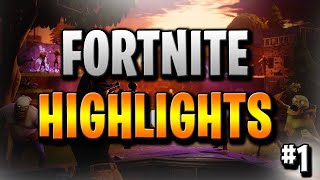 Fortnite highlights with Dakotaz and Ghost issa#2