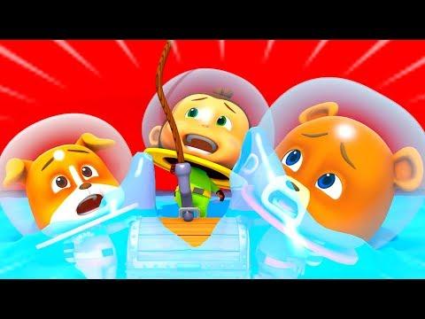Underwater Treasure   Fun Cartoons For Kids and Children