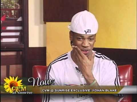 YOHAN BLAKE 19.26sec on CVM @ SUNRISE JAMAICA