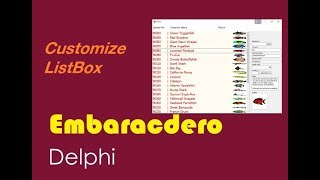 012-Changing DBGrid Cells and Rows Color in Delphi تغيير لون خانات