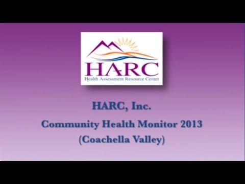 HARC Community Health Monitor 2013 Data Release