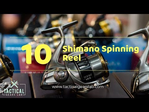 10 Best Shimano Spinning Reel - Tactical Gears Lab 2020
