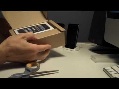 Apple iPhone 3GS Unboxing [DetroitBORG]