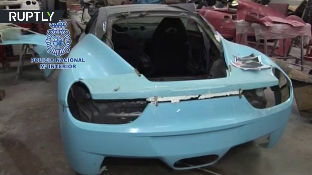 Spanish police bust counterfeit Ferraris & Lambos 'kitcars factory'