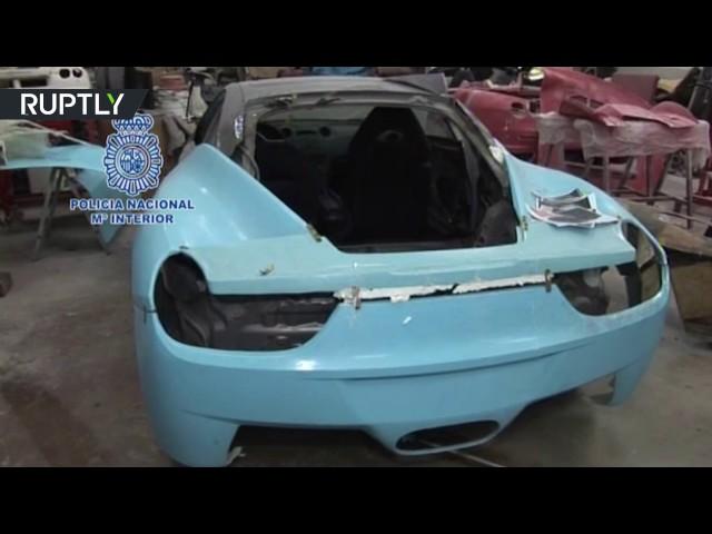 Spanish police bust counterfeit Ferraris & Lambos 'kitcars factory'