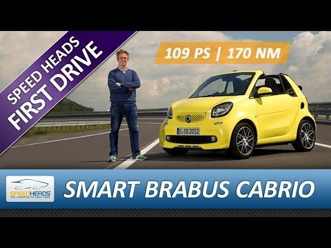 2017 Smart Brabus Cabrio Test (109 PS) - Fahrbericht - Review