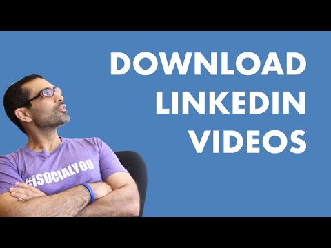 HOW TO DOWNLOAD LINKEDIN VIDEOS ON PC - Free Online Tool