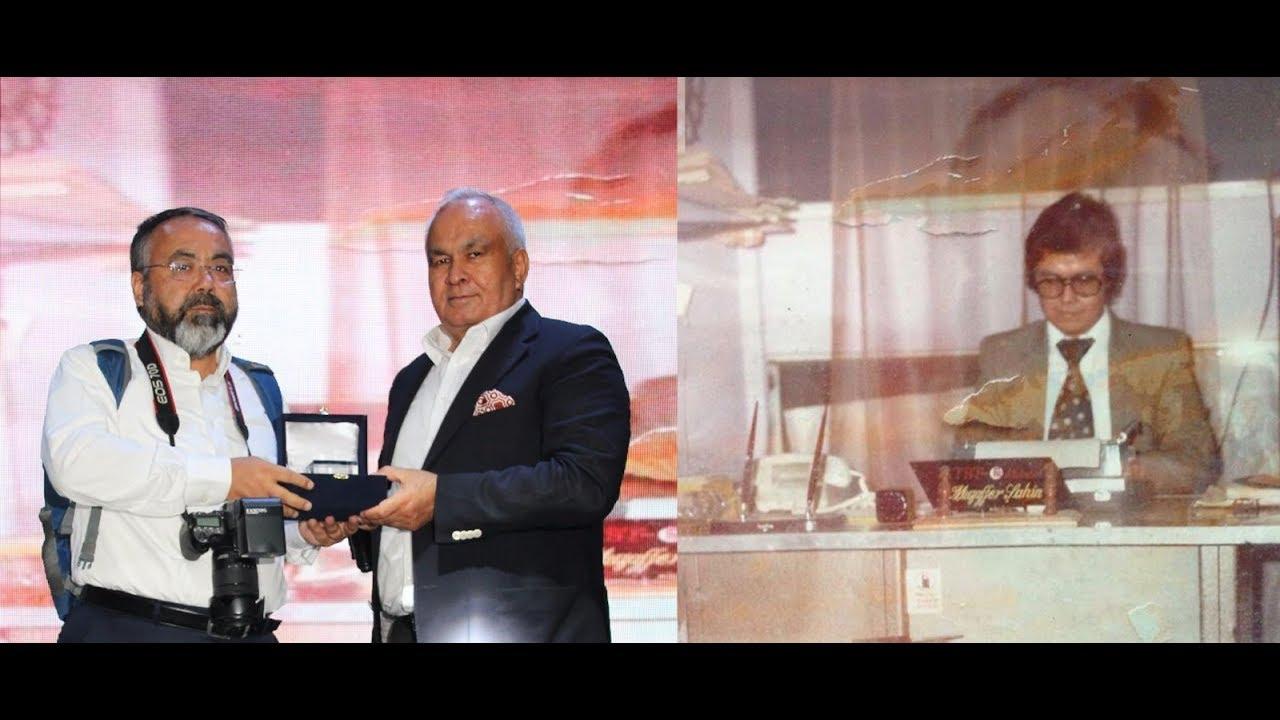 Gazeteci Şahin'e Onur Ödülü