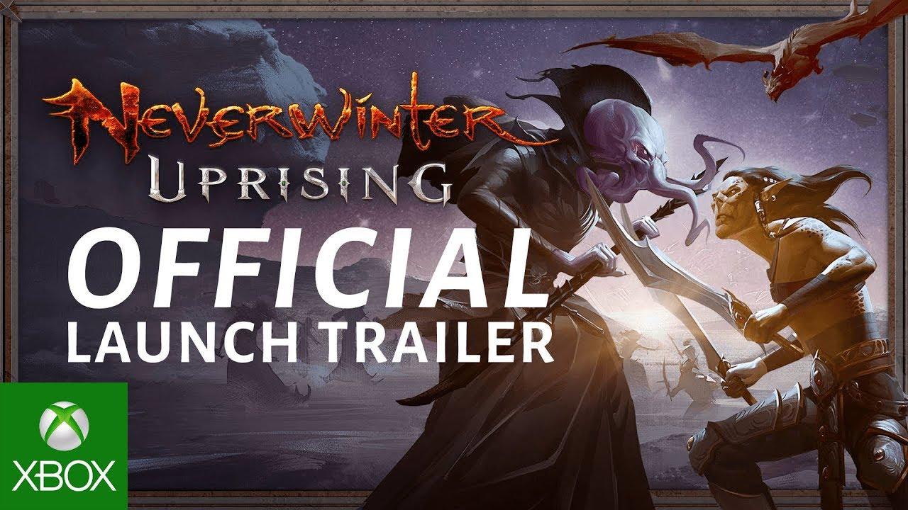 Neverwinter Best Class 2020.Neverwinter Uprising Official Launch Trailer
