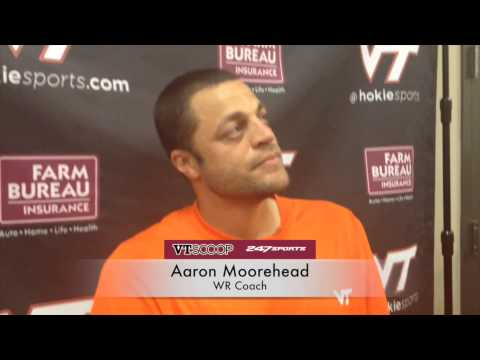Post-Practice 9/16 with Aaron Moorehead