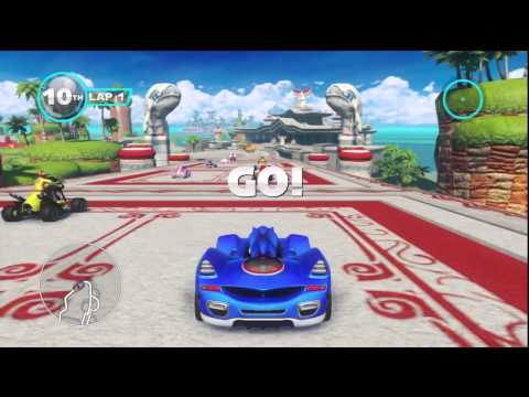 Sonic & All-Stars Racing Transformed - Quicklook (Nintendo Wii U)