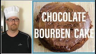 HOW TO MAKE A HOMEMADE CHOCOLATE BOURBON CAKE