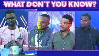 What Don't You Know? John Dumelo Vs James Gardiner Vs Jeneral Ntatia