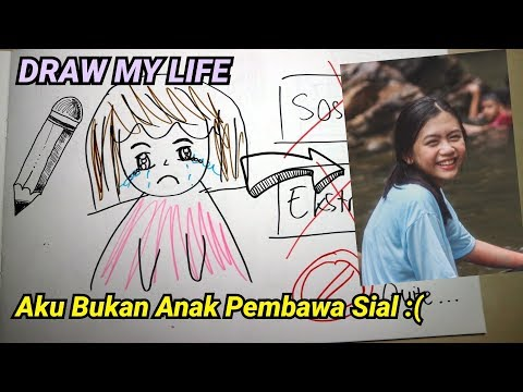 DRAW MY LIFE SPECIAL 100K SUBSCRIBERS! | Elly Marcellina