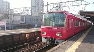 名鉄3700系3704F+3150系3159F急行豊川稲荷行き 新安城駅発車!
