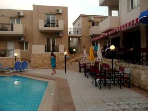 Crete Agia Marina 2009 Hotell Relax