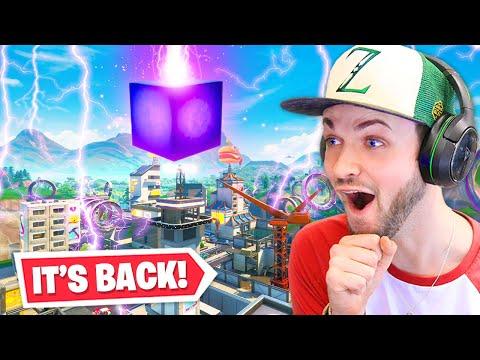 The Cube RETURNS!