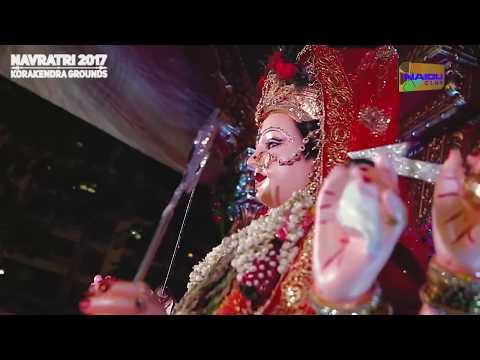 Ambar Gaje Ne Megha Damar Gaje - Day 2 Glimpse Naidu Club Kora Kendra Navratri 2017