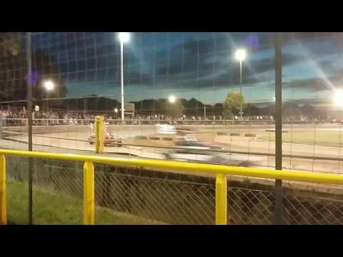 First race of Micro Stox #2 at Arlington Raceway 7 September