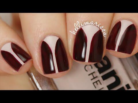 How to diy elegant v gap nail art kelli marissa youtube how to diy elegant v gap nail art kelli marissa prinsesfo Images