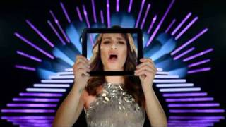 HP TOUCHPAD COMMERCIAL-- LEA MICHELE