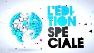 Nicole Slack Jones - Générique Edition Spéciale - Canal + - Bruce Toussaint