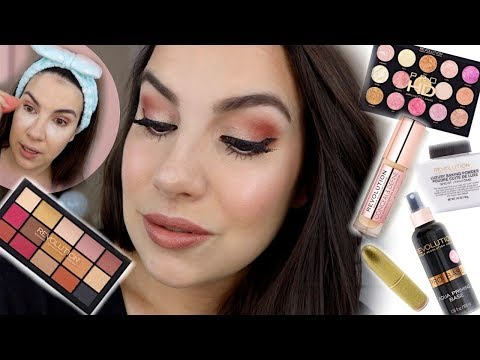 MAKEUP REVOLUTION FULL FACE | Budget-Friendly Glam