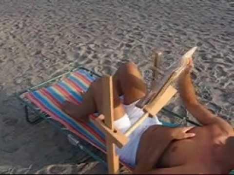 leggio da letto da spiaggia  CAMBIO PAGINA 2wmv  YouTube